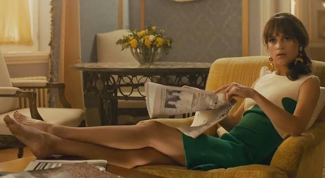 """Алисия Викандер в """"Мъжът от U.N.C.L.E."""""""