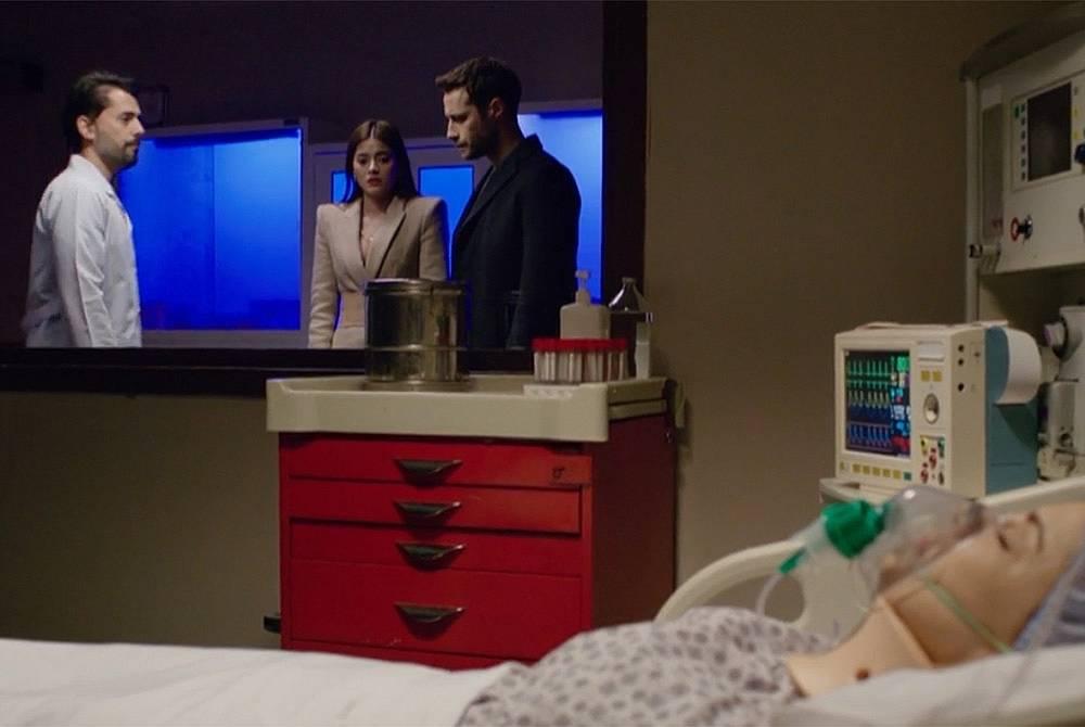 Лекарят казва на Дамла и Дженк, че операцията е преминала успешно, но е много рано да се каже, какво е психическото и физическото състояние на Шениз.....