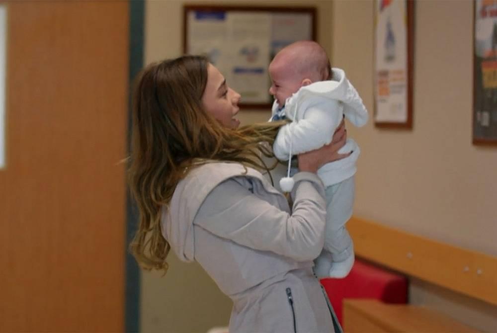 Джерен и бебето