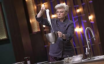 "Chef Силвена Роу дава урок по веган сладкарство в ""MasterChef"""