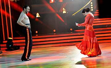 Прецедент: Илиана Раева вдигна 11 точки на Дарин Ангелов в Dancing Stars