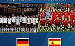 ЕВРО 2008 - финал, Германия и Испания