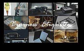 Бизнес етикет по EBF Икономика ТВ – Деловият прием
