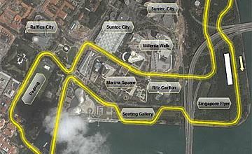 Формула 1: Първото нощно състезание в Сингапур по bTV на 27 и 28.09.