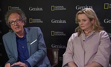 """Актьорите Джефри Ръш и Емили Уотсън –  тази събота в """"Като на кино"""""""