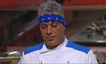 Първи мъжки сълзи в Hell's Kitchen България