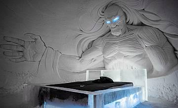 """В Лапландия построиха леден хотел за феновете на """"Игра на тронове"""""""