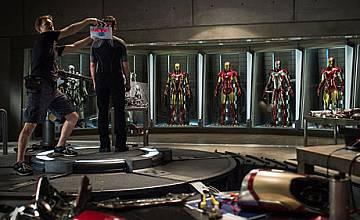 """Започнаха снимките на """"Железеният човек"""" 3"""