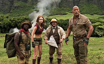 Джуманджи: Добре дошли в джунглата | Jumanji: Welcome to the Jungle (2017)