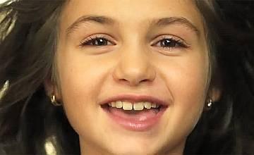 Вижте песента на Крисия за детската Евровизия (видео)