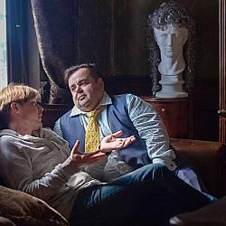 Михаил и адвокат Борис Брикман, Лондонград