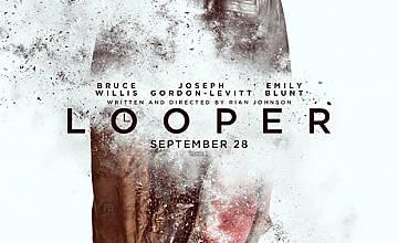 """Брус Уилис е преследван от по-младото си Аз  в """"LOOPER: Убиец във времето"""""""