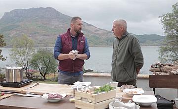 Chef Андре Токев и Събин Ранков изследват автентични рецепти за дивечово месо в Кърджалийско