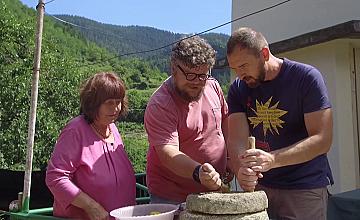 """Chef Андре Токев и Събин Ранков опитват автентичните вкусове на Родопите в """"Ловци на храна"""""""