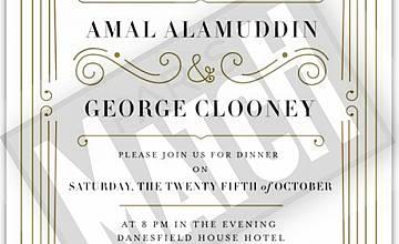 Сватбата на Джордж Клуни - 25 октомври в Марлоу, Англия