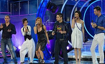 Графа и Акага на сцената на Music Idol в сряда вечер