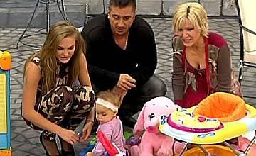 Дъщерята на Коцето направи направи своя телевизионен дебют