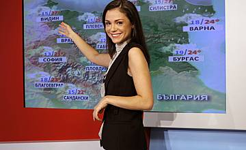 Никол Комитов - лице на MTV представя прогнозата за времето по PRO.BG