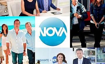 Какво ново по НОВА ТВ през август