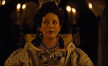 Оливия Колман е кралица Анна във Фаворитката