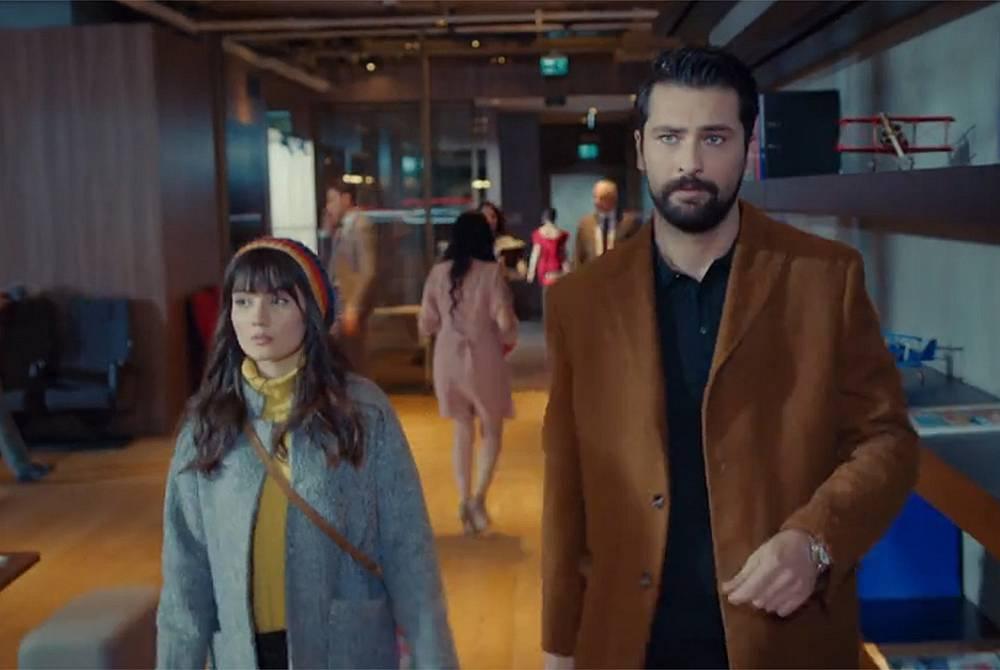 С добри намерения започнала работа си и сестра ѝ Зайнеп... с Алихан Ташдемир в неговата компания.
