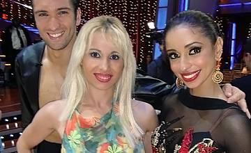 "Сабрина Паризи и Латоя Джексън - ВИП гости на американските ""Dancing with the stars"""