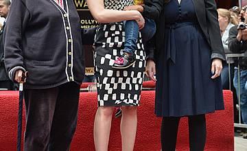 Скарлет Йохансон получи своя звезда на Алеята на славата