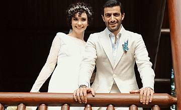 Турската актриса Сонгюл Йоден се омъжи за втори път (снимки)