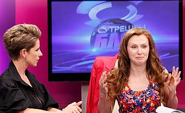 """Джина Стоева обявява в ефира на """"Сутрешен блок"""", че ще се омъжва"""