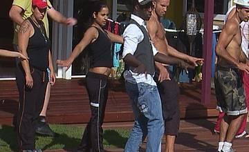 Big Brother 4: Таня и Жоро – еротичен масаж и нежни целувки.