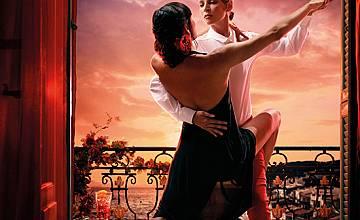Ума Търман в календар на Campari