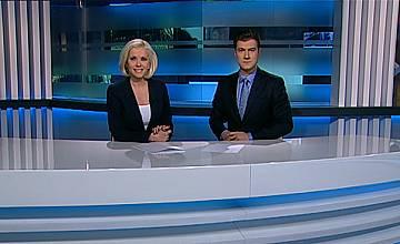 Костадин Филипов и Валентина Войкова – водещи на Централната емисия Новини на TV7