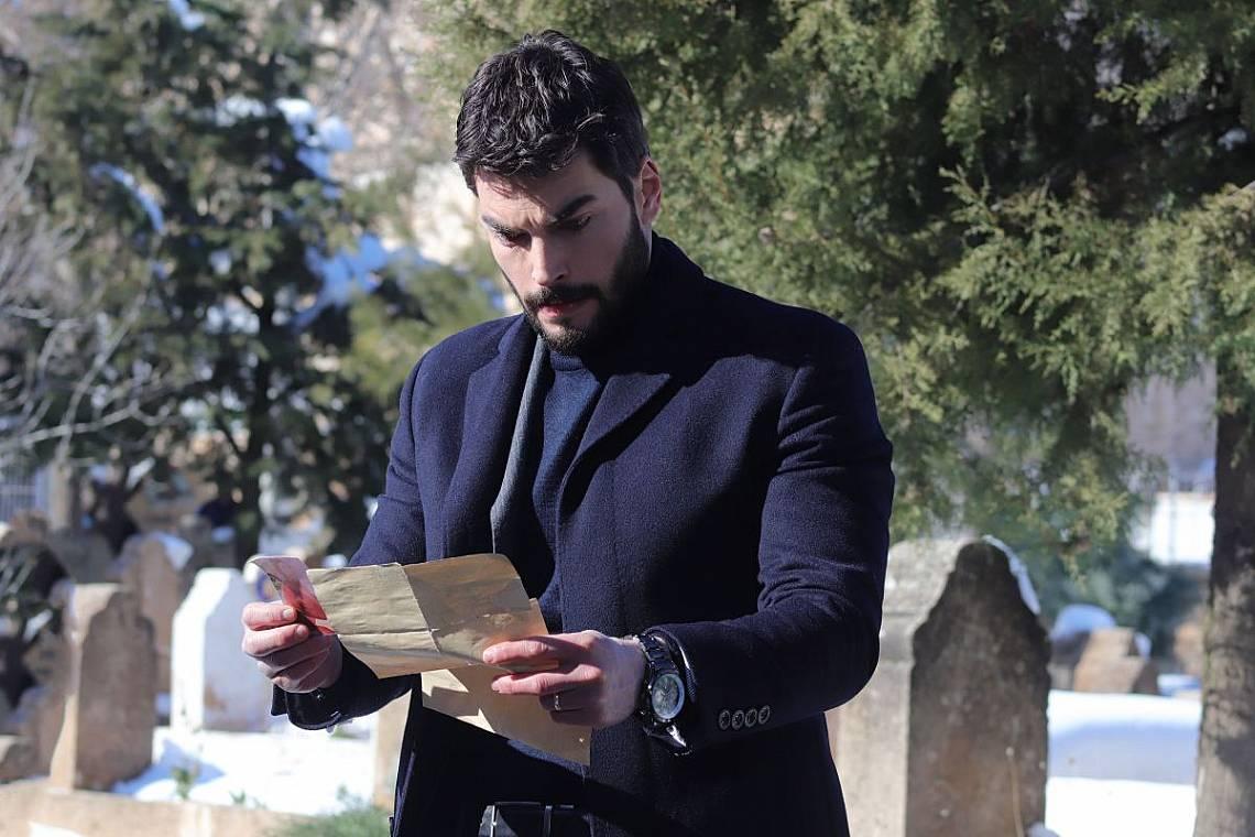 Миран чете писмото на майка си до Хазар