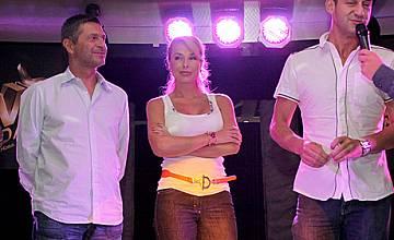 Мира Добрева, Милен Цветков и Камен Воденичаров в VIP Dance по Нова ТВ